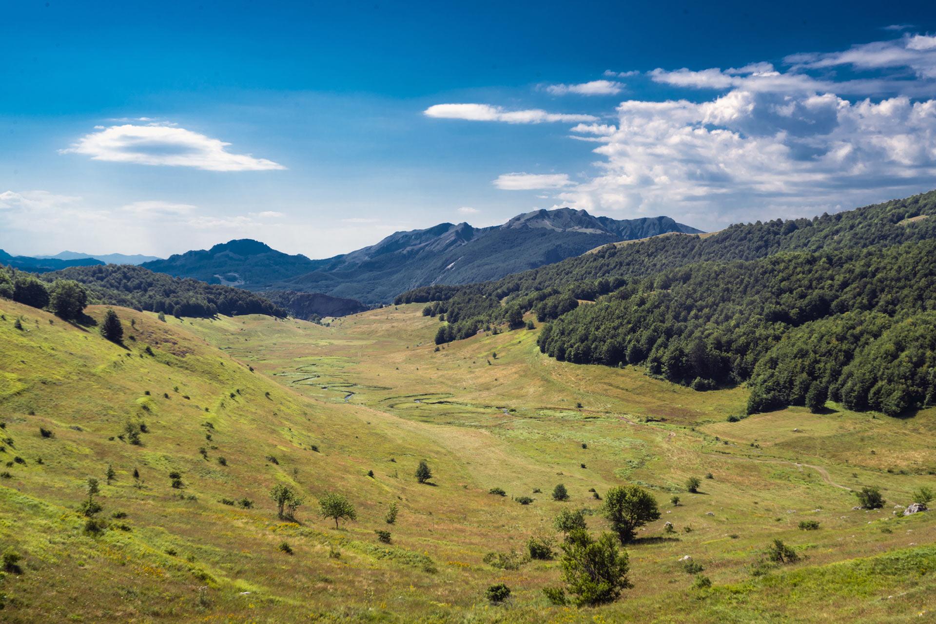 View of Studeni potok, Bosnia and Herzegovina