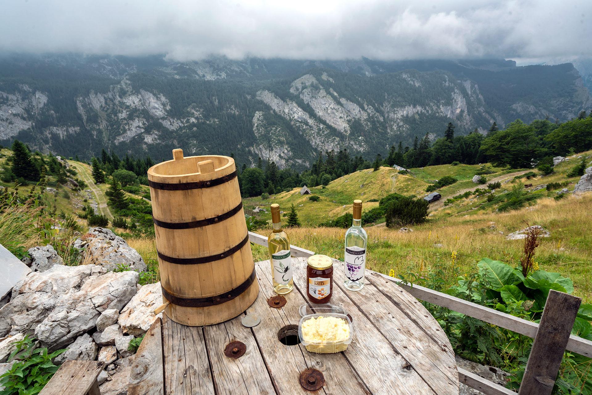 View from Prijevor, Sutjeska NP