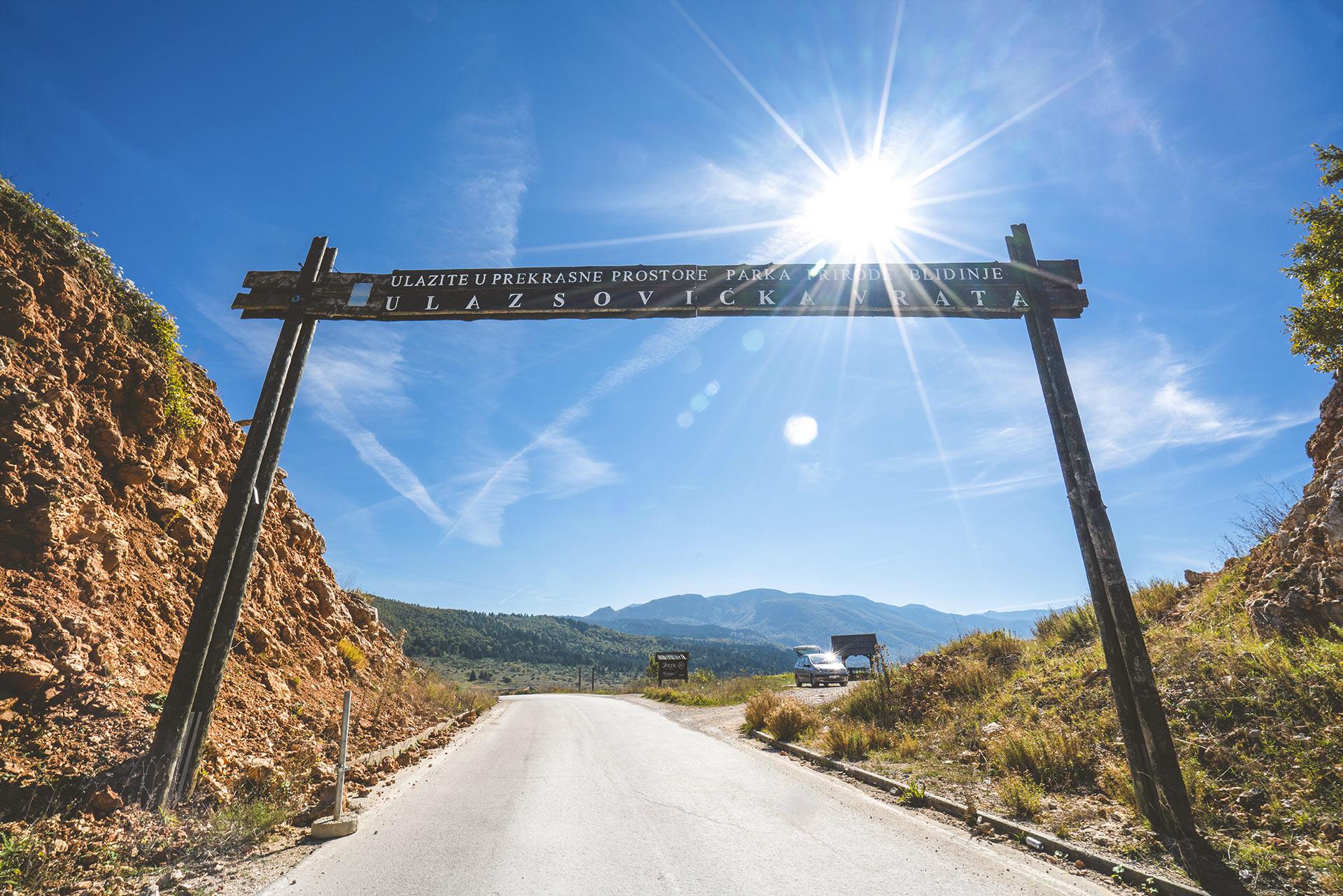 Sovićka vrata (Gate), Blidinje NP