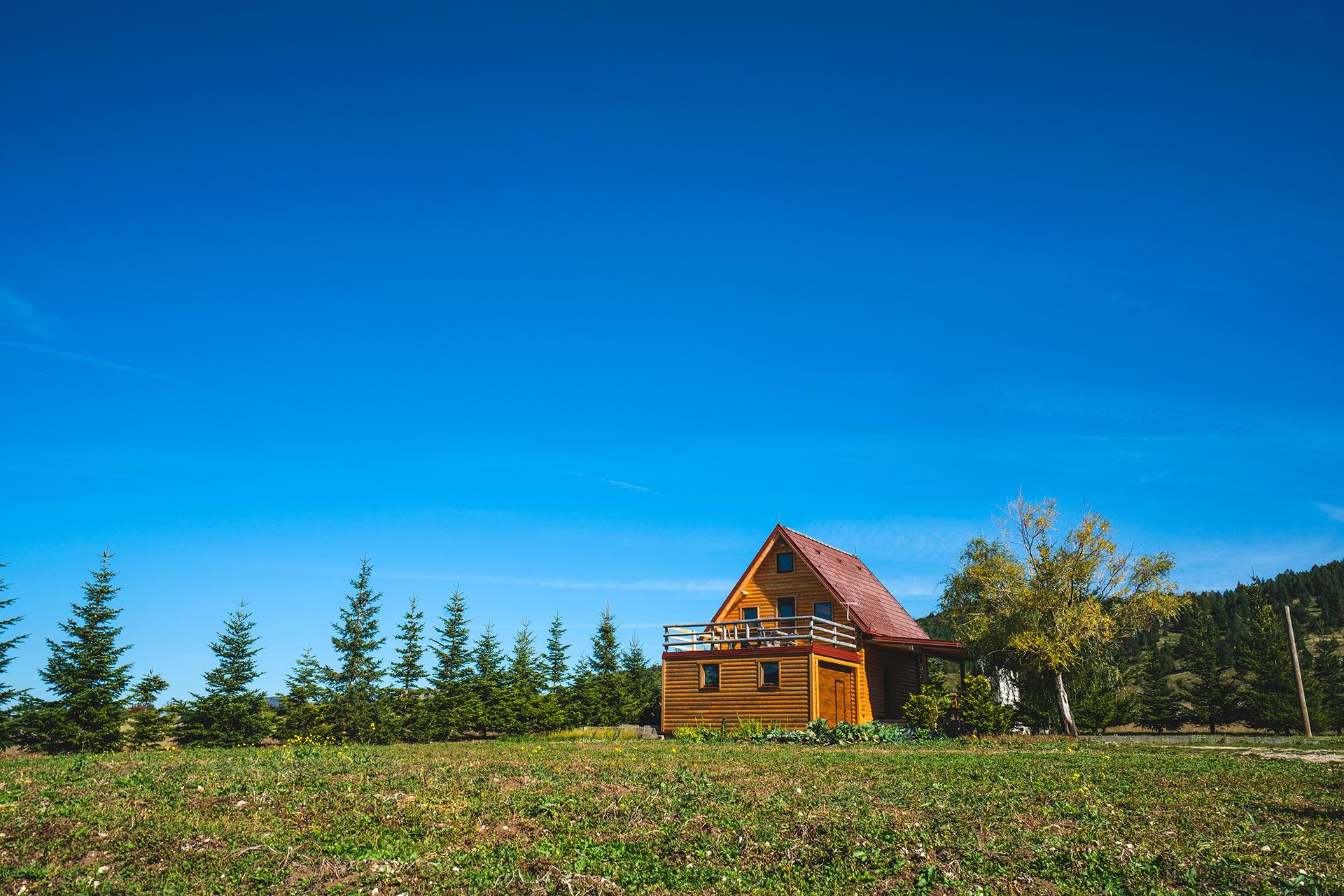 Weekend houses in Blidinje NP