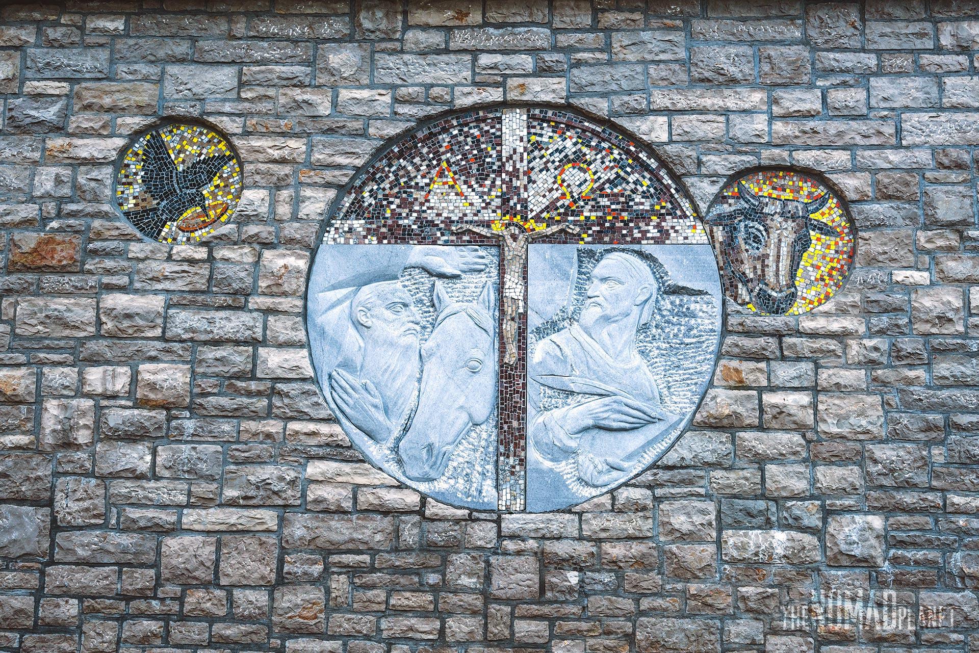 Art on the Franciscan Monastery in Blidinje NP