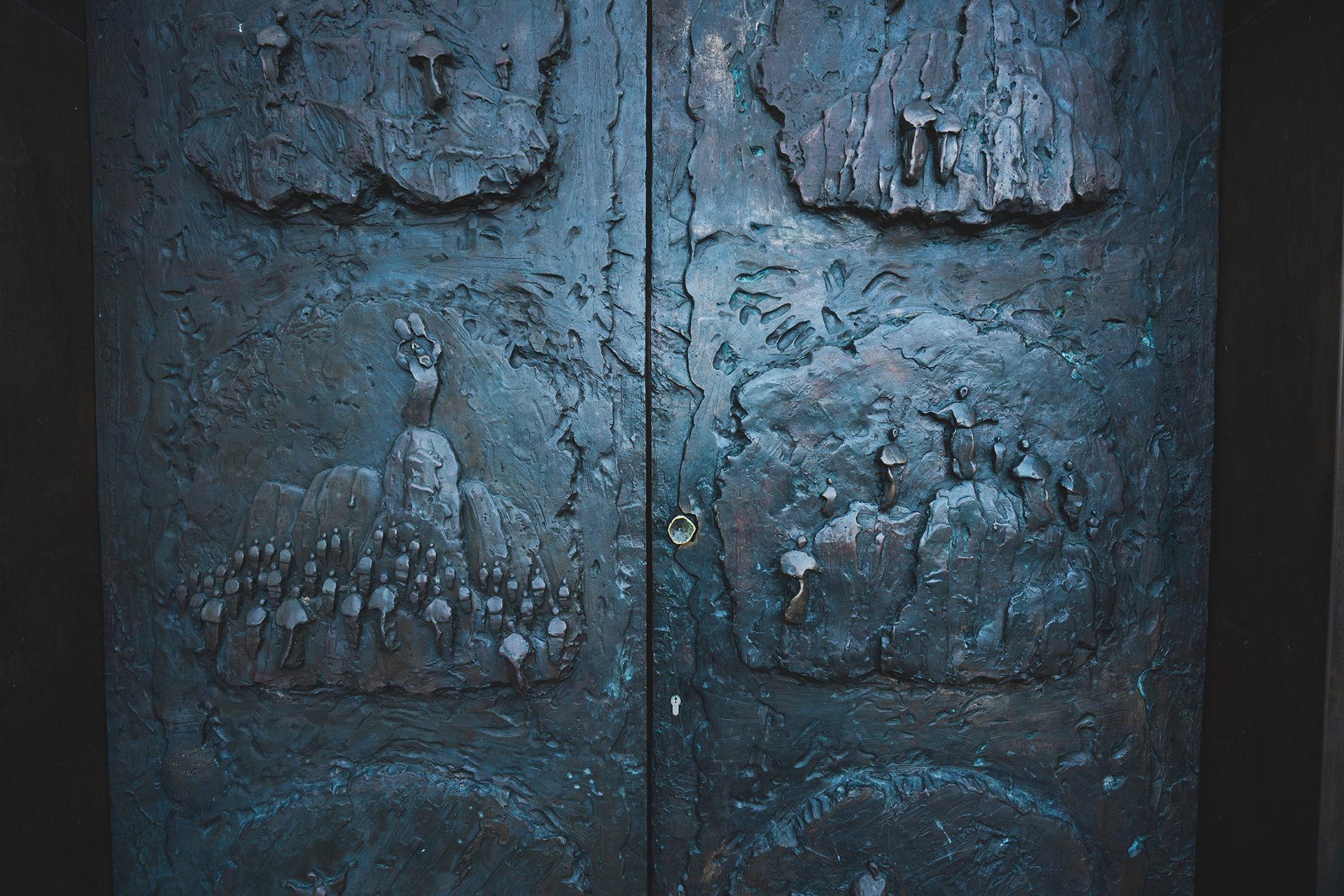 Church doors, St. Elijah