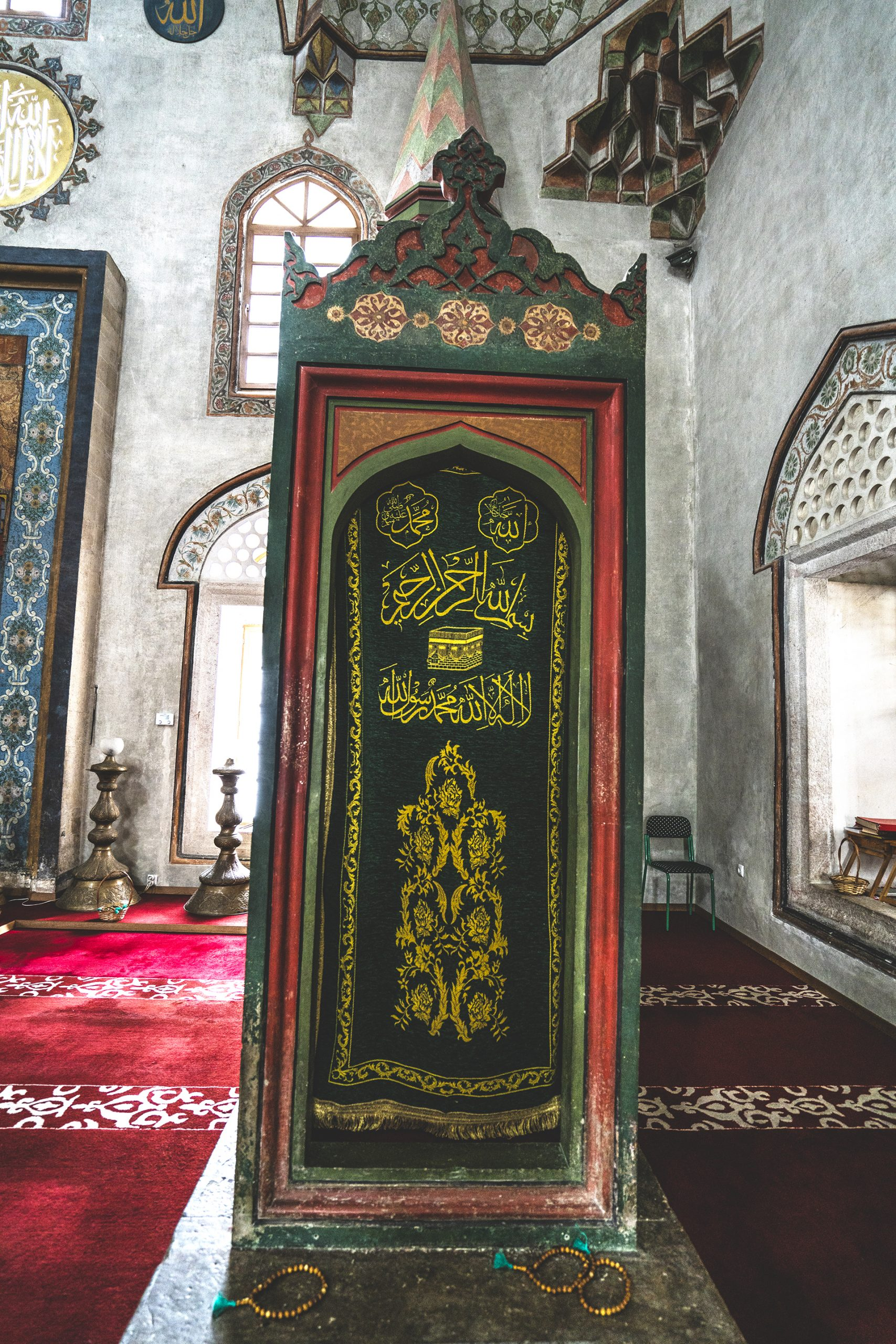 Entrance to the minbar of the Emperor's Mosque, Sarajevo