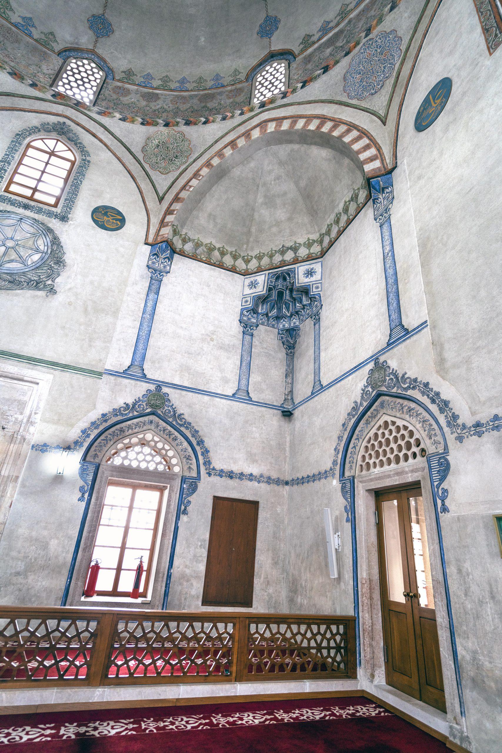 Interior of Emperor's Mosque Sarajevo