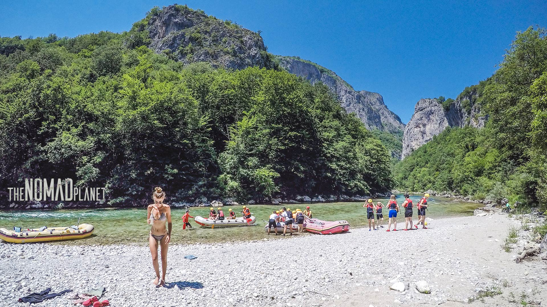 Neretva white water rafting