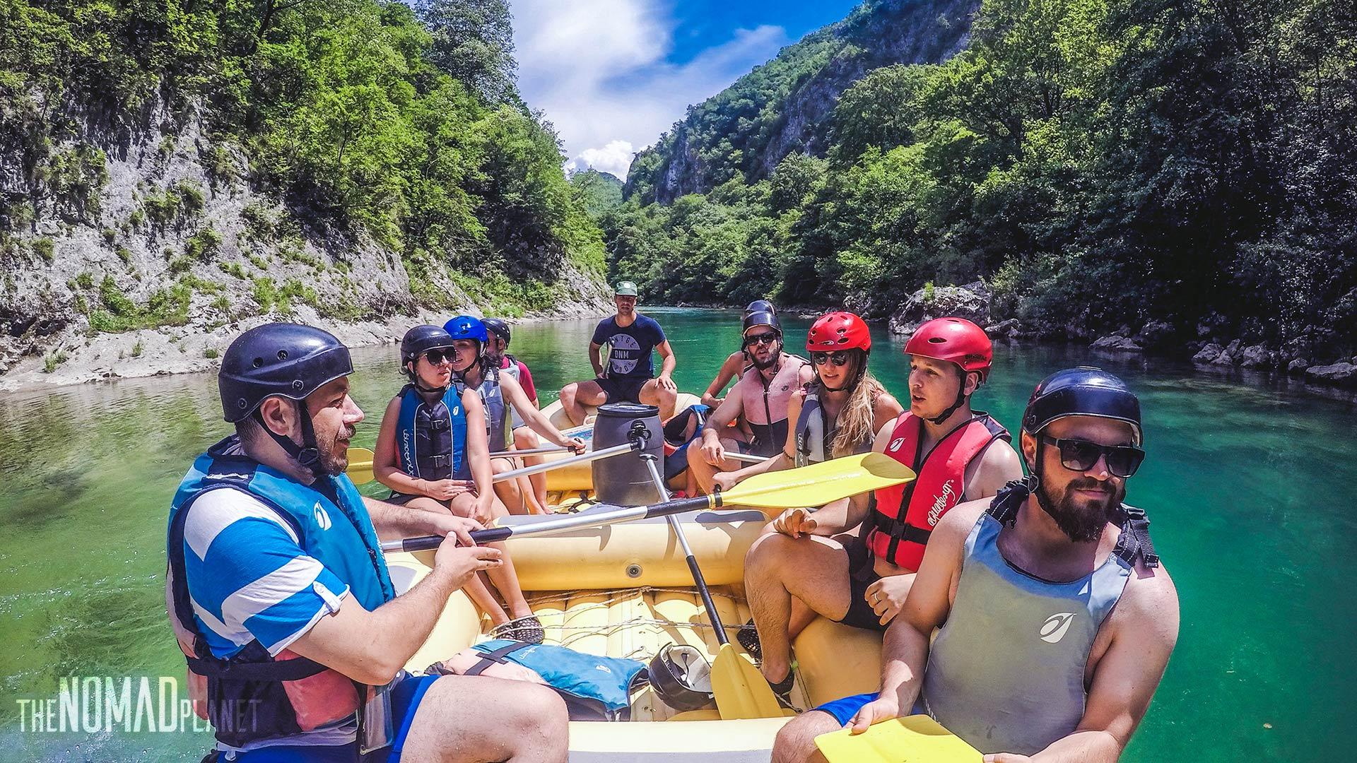 Rafting on Neretva River