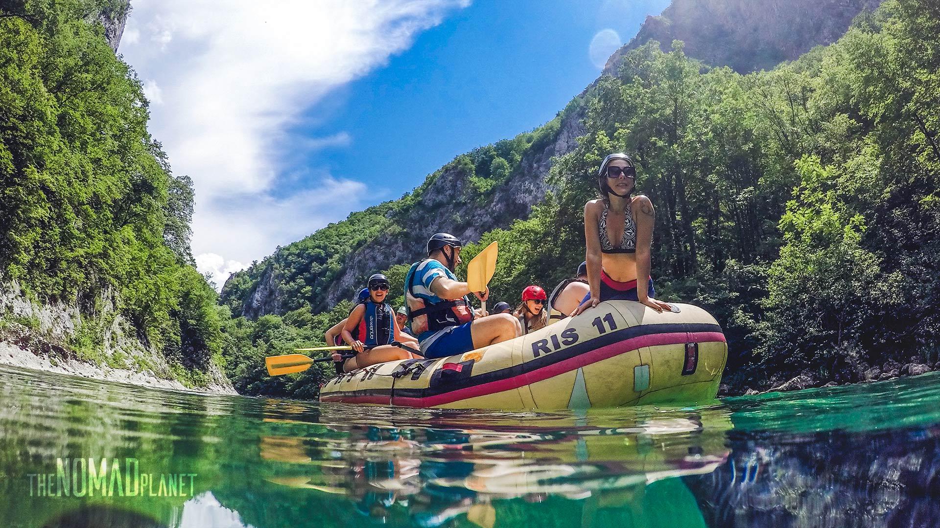 White water rafting Neretva