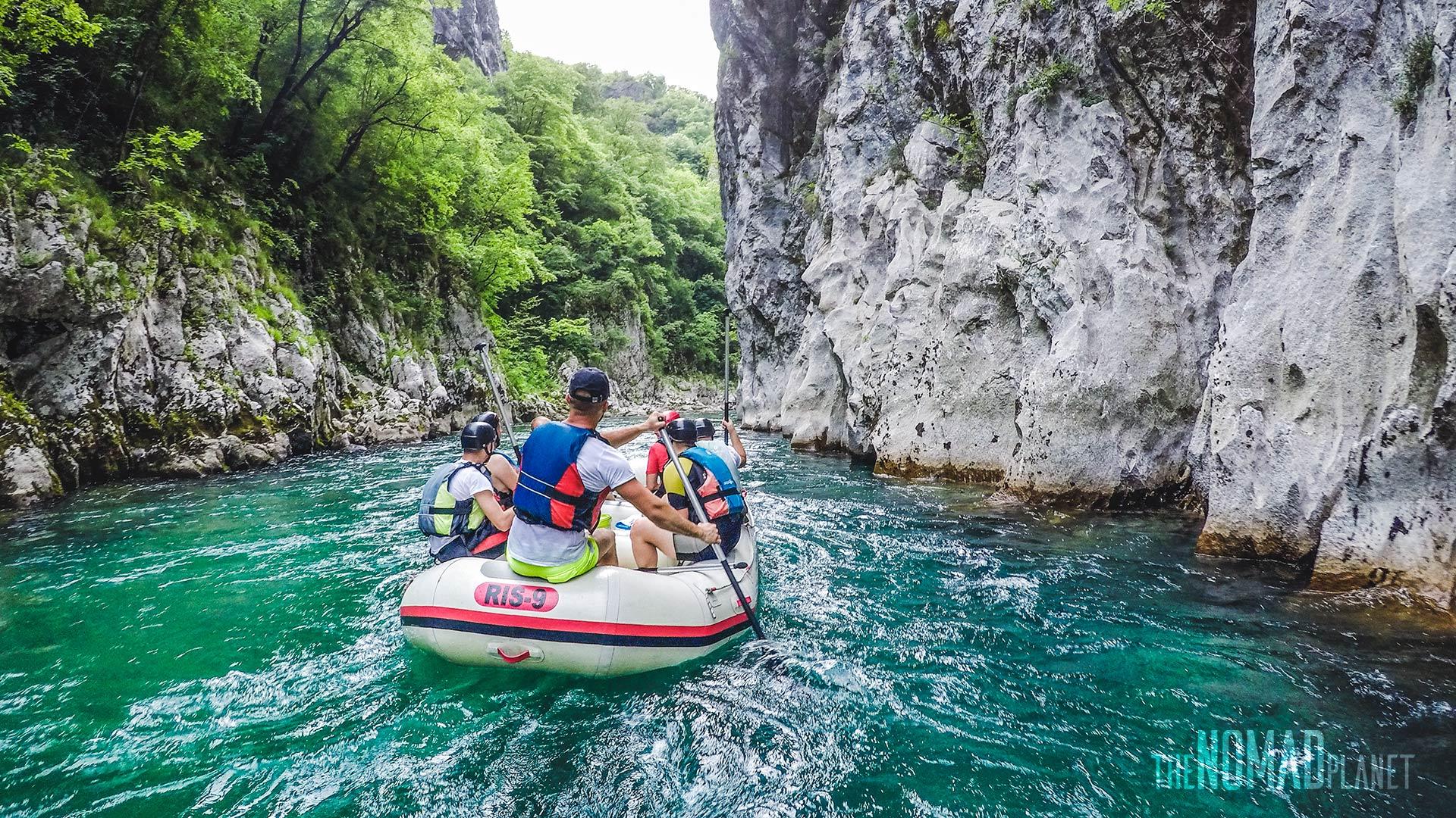 Neretva white water rafting